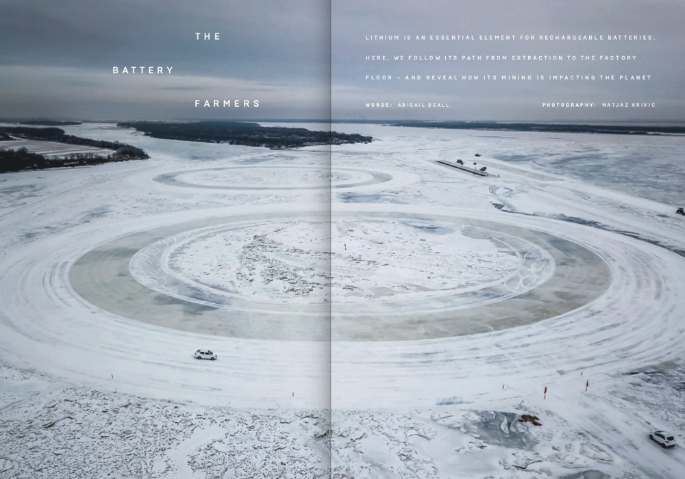 Wired Magazine publishes \'Lithium\' by Matjaz Krivic ...
